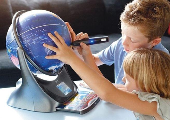 Интерактивный глобус - отличный подарок ребенку