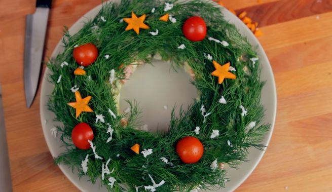 Оригинальный рецепт салата к новогоднему столу