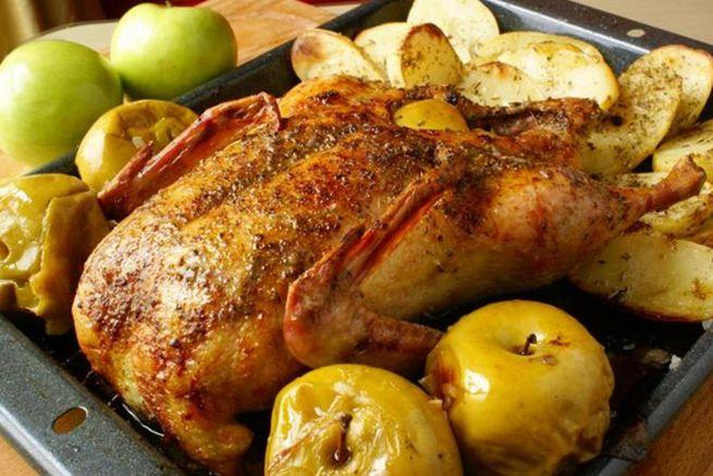 Классический способ приготовления с яблоками
