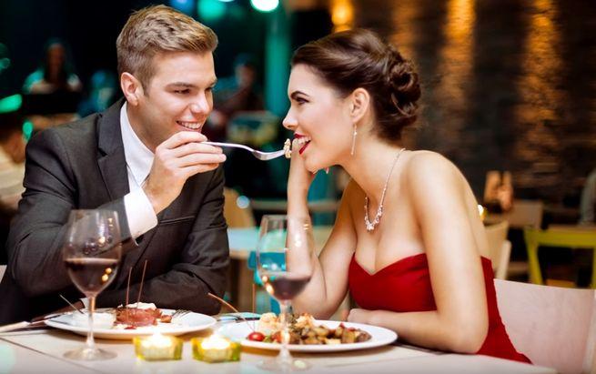 Романтический ужин на Валентинов день