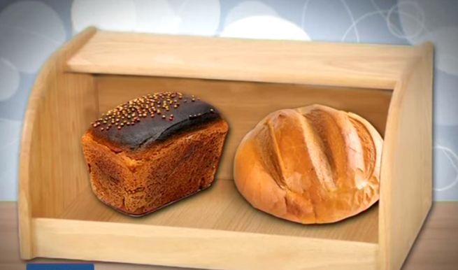 Где хранить хлеб? Традиционный способ - хлебница