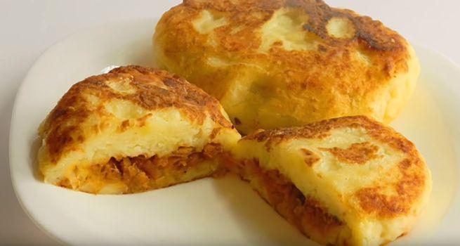 рецепт картофельных зраз с тушеной капустой