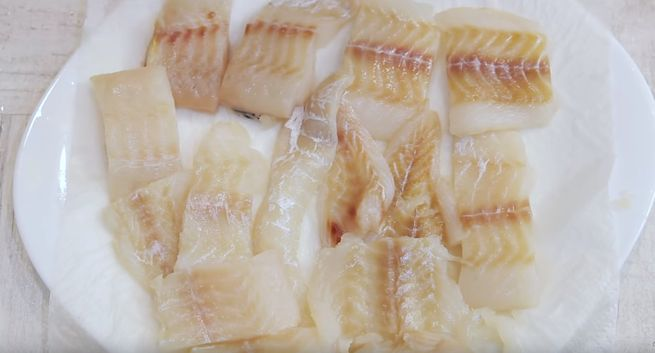 Рыба жареная во фритюре технология приготовления