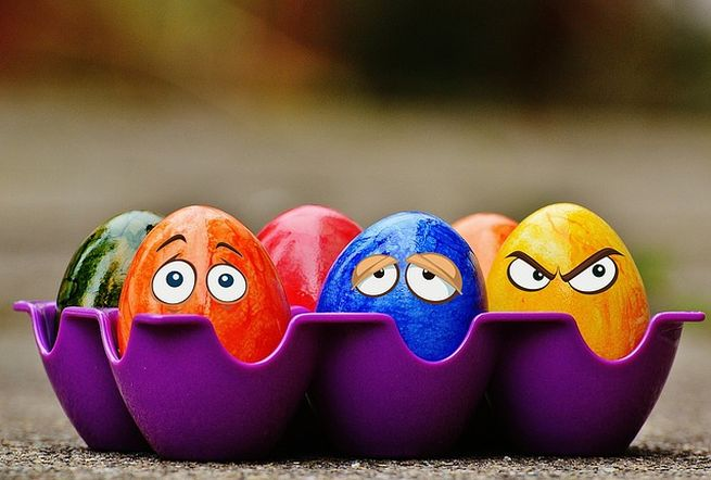 Красивые яйца «Миньон»