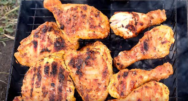 Курица - какие часть лучше взять на шашлык