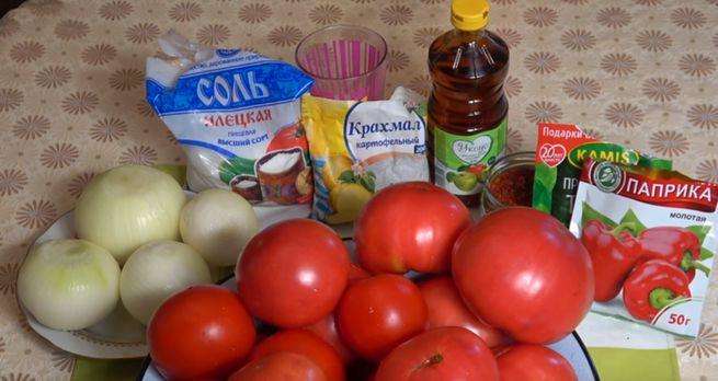 домашний кетчуп из помидор за 40 минут