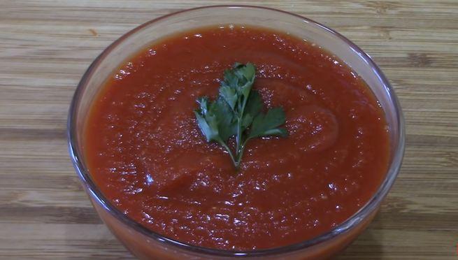 Классический рецепт приготовления кетчупа