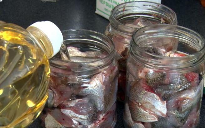 приготовления рыбных консервов в масле