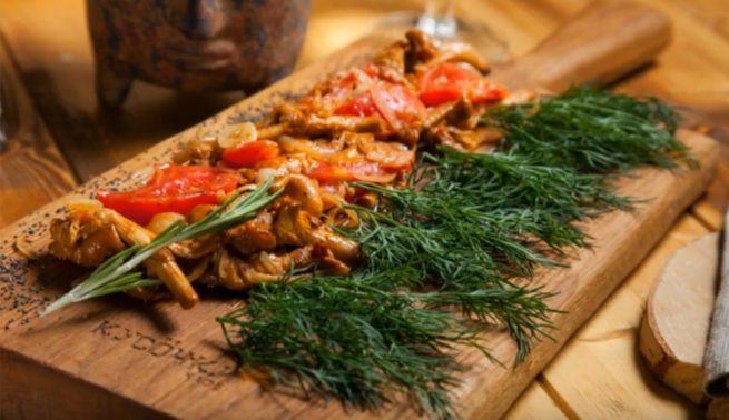 простой в исполнении рецепт с грибами